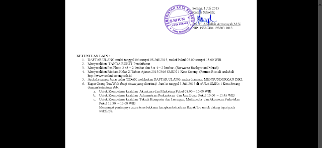 Info tambahan yang saya dapatkan dari E-Book Hasil Seleksi PPDB: