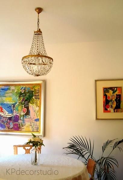 Decoración vintage, salones clásicos, lámparas antiguas en decoración actual.