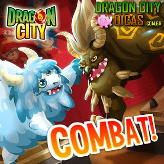 Combate - Dragon City