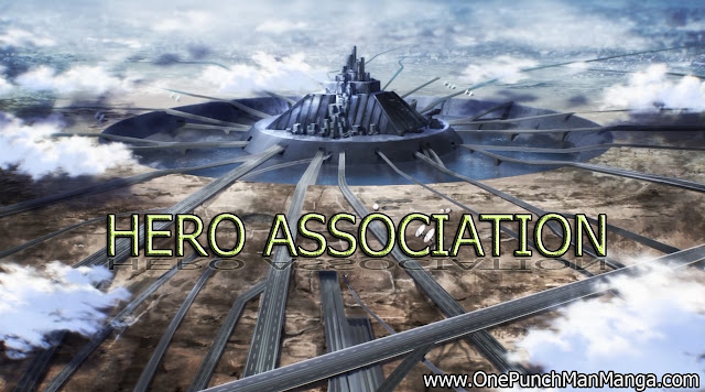 Hero Association one punch man