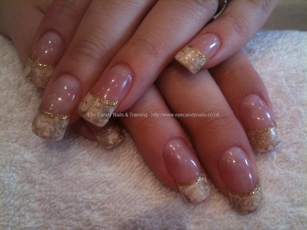 marble nail art-118