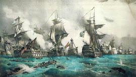 BATALLA DE TRAFALGAR (21/10/1805) REINO UNIDO, AUSTRIA, RUSIA, NÁPOLES, SUECIA Vs NAPOLEÓN.