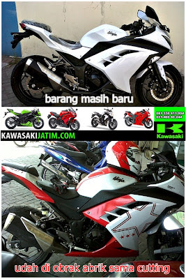 cutting sticker motor ninja 250 injection