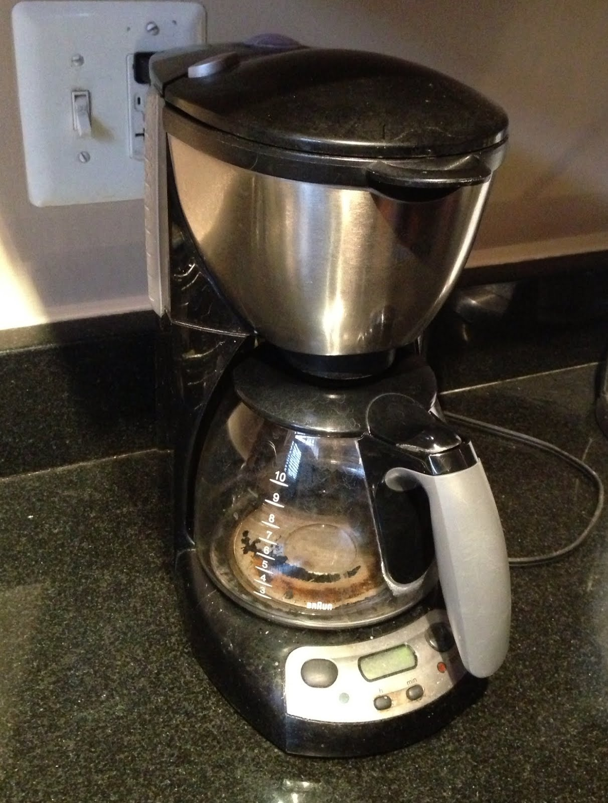 Cuisinart Coffee Maker Replacement Jug : LIT s Living on Capitol Hill (Hell!?): GE, Cuisinart Keurig, Brita, and Braun Water Filter Confusion