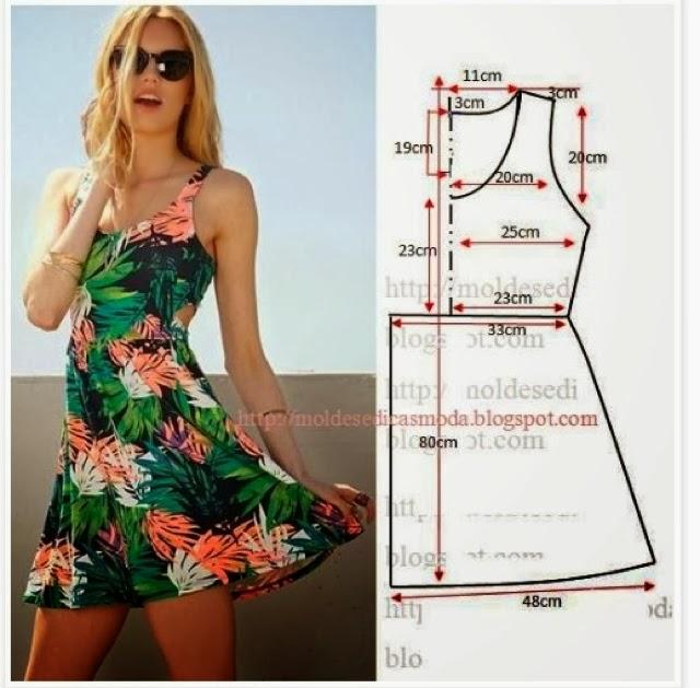 Летнее платье своими руками шьем