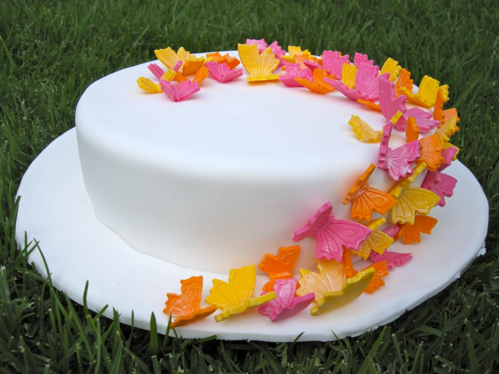 Vegie Mix: Butterfly Cake