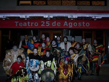 En el Teatro 25 de Agosto
