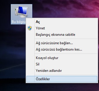 Windows 8.1 sistem özellikleri