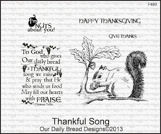Our Daily Bread designs Thankful Song