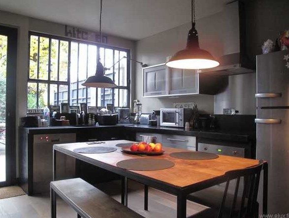Design for loft un loft d exception - Cuisine style loft ...