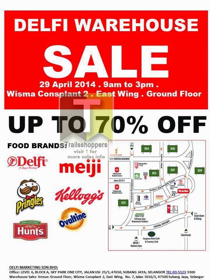 Delfi Food Warehouse Sale Subang Jaya Chocolate