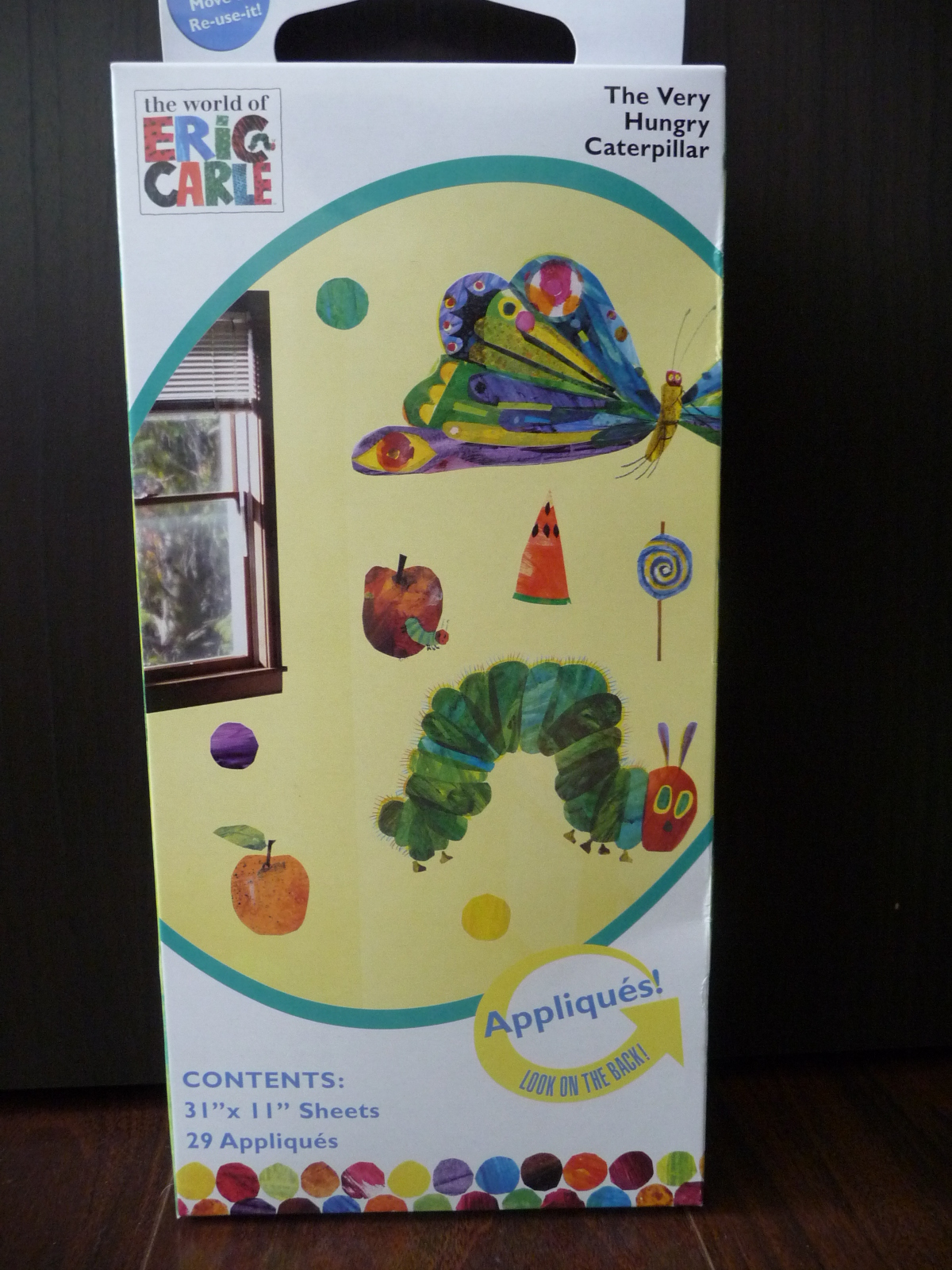 Hungry Caterpillar Wall Stickers Part - 28: Very Hungry Caterpillar Wall Sticker Box