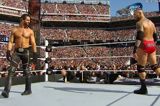 WrestleMania 31 Orton vs. Rollins