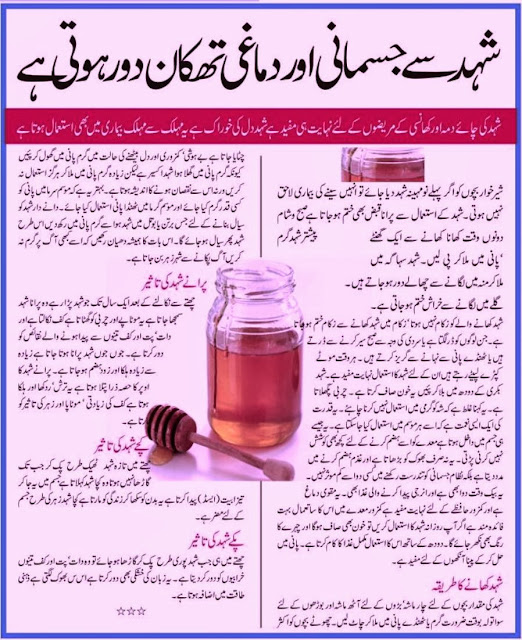 HONEY  AND  HEALTH-Health Tips And Tricks in Urdu