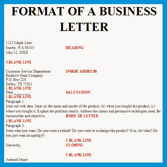What is business letter selol ink what is business letter altavistaventures