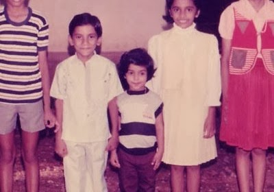 Thulasi Nair childhood