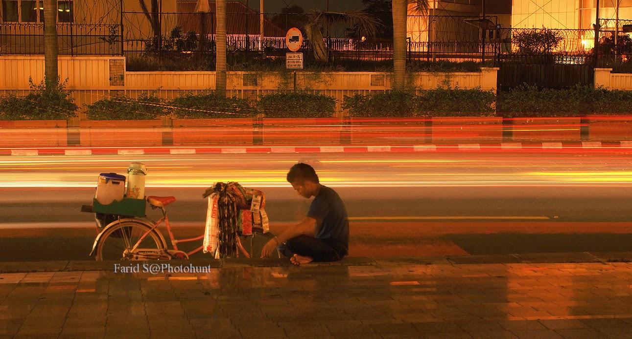foto Jakarta malam hari