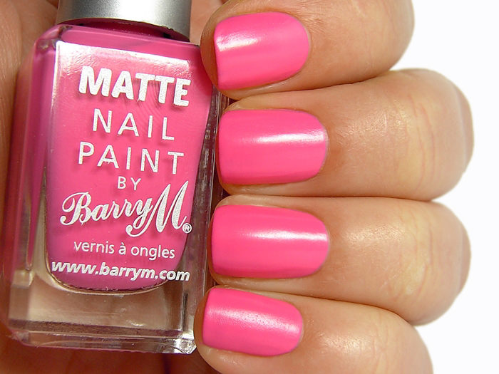 Barry M Matte Nail Paint Miami