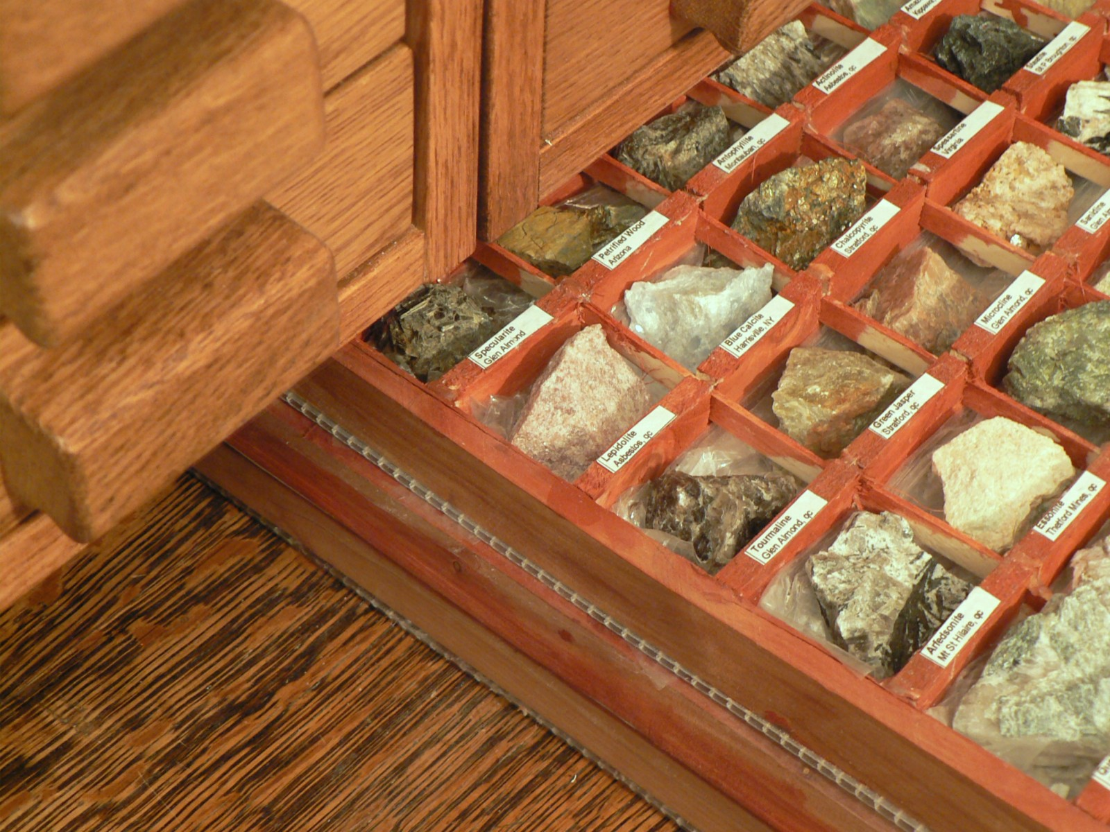 A Rock And Mineral Cabinet Designing The Cabinet What