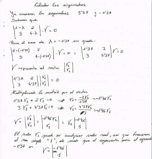 how to find eigenvalues and eigenvetors