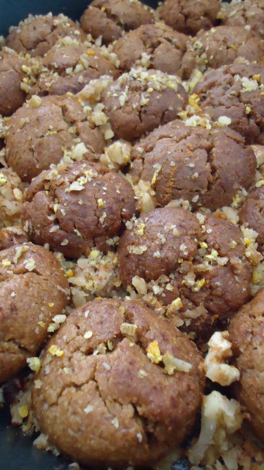 The Greek Bite Healthy Melomakarona Cookies Vegan Gluten Free And