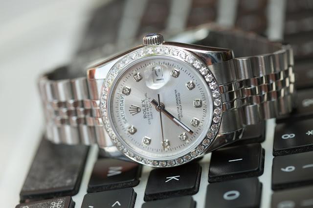 Đồng hồ nam dây inox cao cấp đẹp giá rẻ Rolex