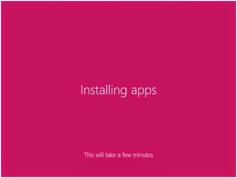 proses instalasi apps windows 8