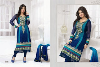 Aashri Creations Party Wear Collection 2013 For Women 005