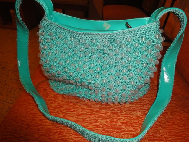 Manualidades de bolsas tejidas - Imagui