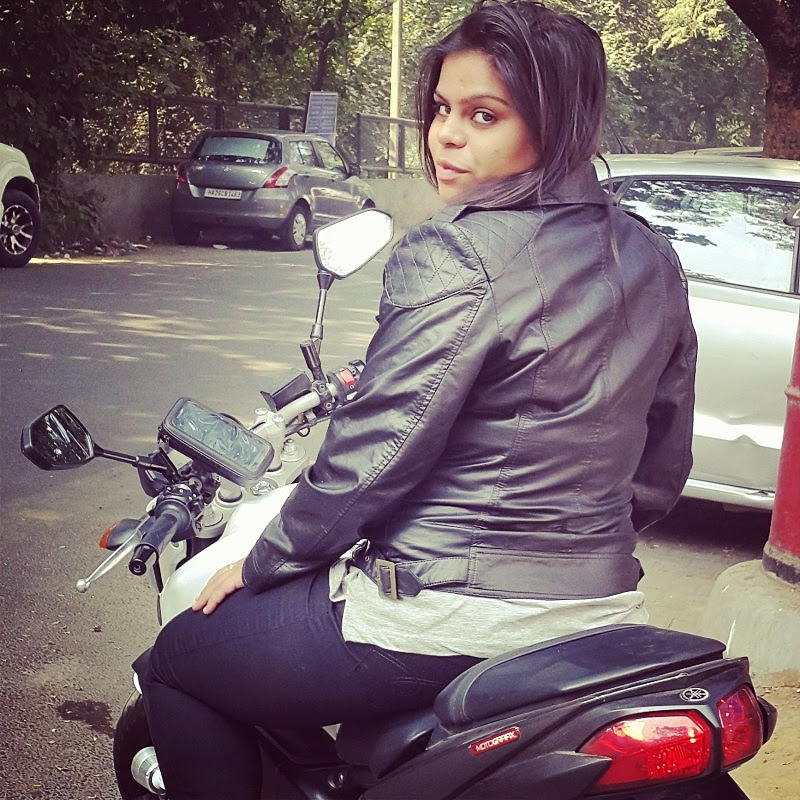stuti rastogi delhi lady biker interview