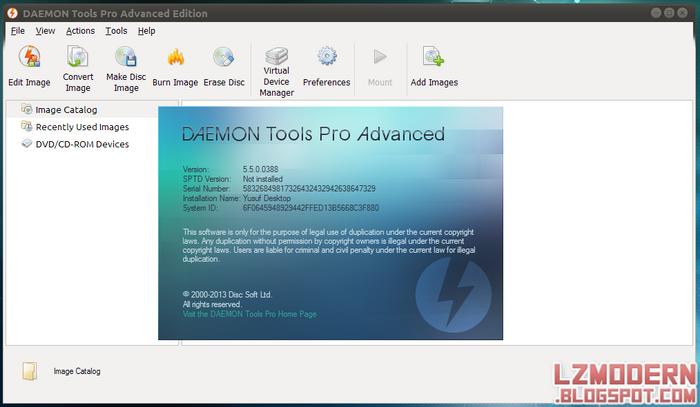 Daemon Tools Pro Advanced 5.5 Full Version