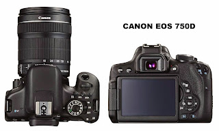 Canon EOS 750D, Canon EOS 760D, Spesifikasi EOS 750D, spesifikasi EOS 760D, Kamera DSLR baru, Kamera Canon baru, full HD video,