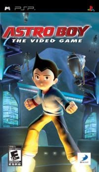 Astro Boy: The Video Game PSP ISO