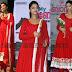 Mamatha Mohandas Red Salwar Kameez
