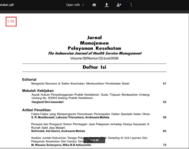 Jurnal Manajemen Pelayanan Kesehatan The Indonesian Journal of Health Service Management