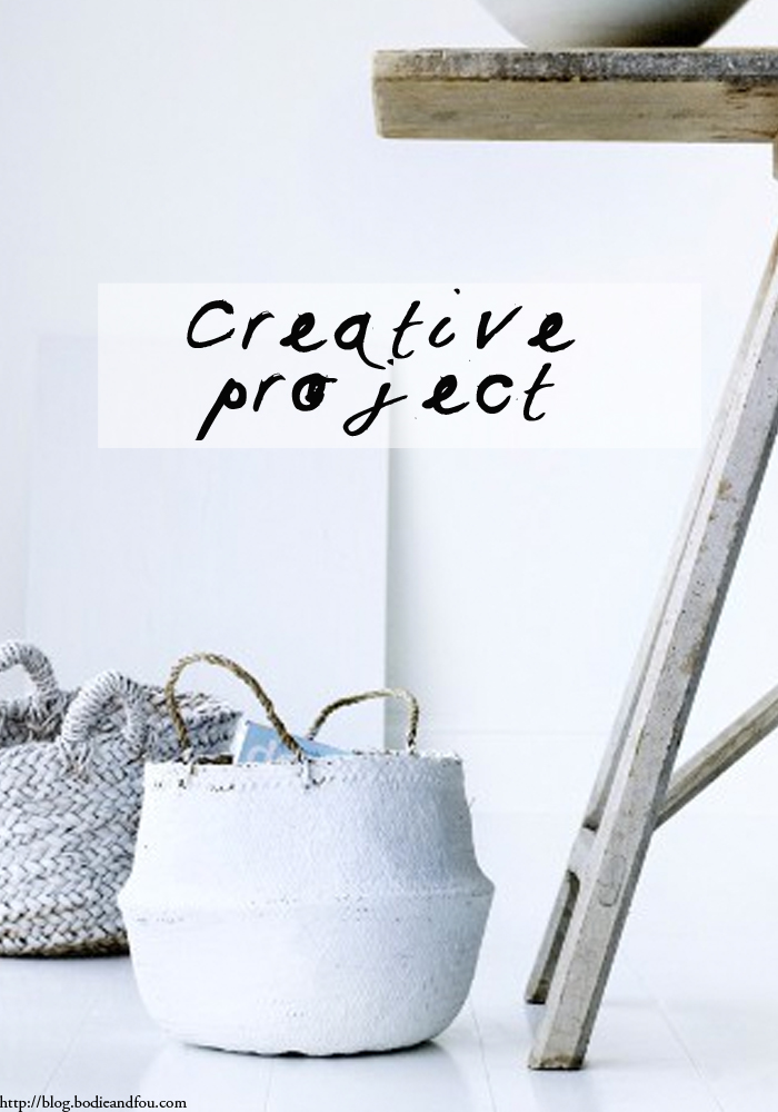 BODIE and FOU Style blog: Creative Challenge. Are you in??