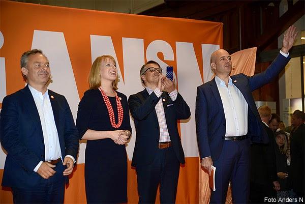 Alliansen, Fredrik Reinfeldt, Göran Hägglund, Annie Lööf, Jan Björklund