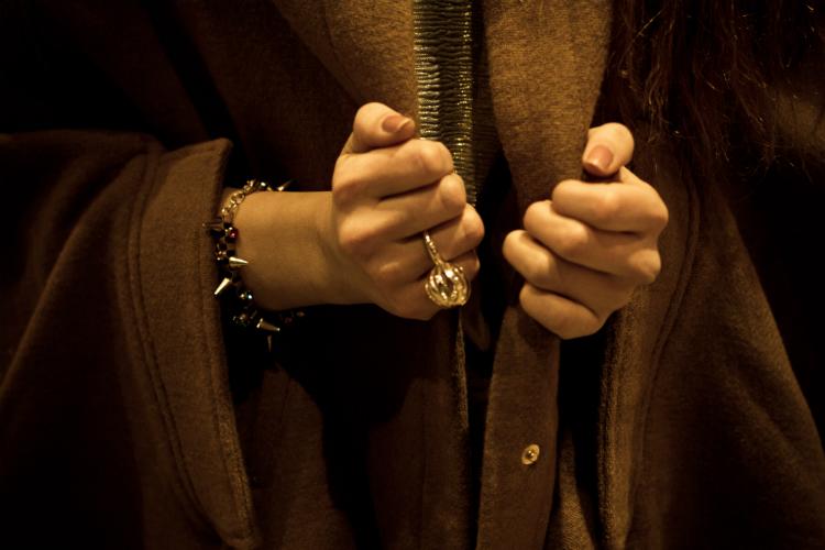 cape ring bracelet winter