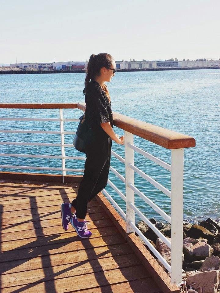 sunglasses, water, beach, oakland, jack london square, bay area, california, fashion, style, blogger, fashion blog, fashion blogger, audrey sides, wasian, dancer