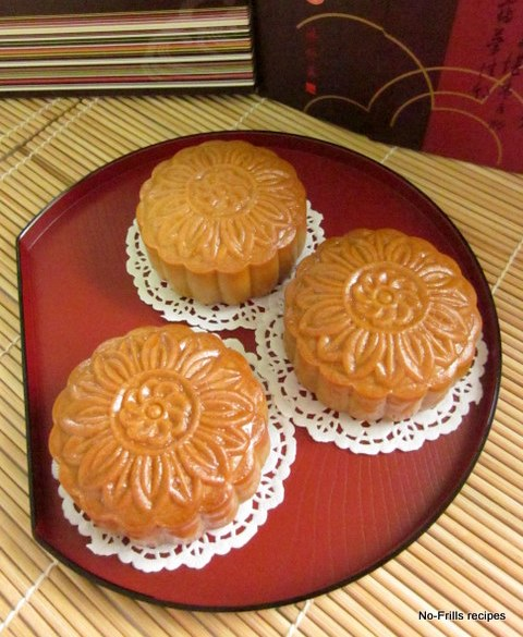 Traditional moon cake recipes