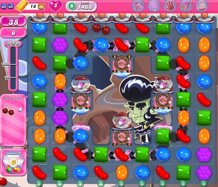 Candy Crush Saga 1468