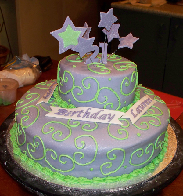 Birthday cakes ideas for 21st birthday cake decoration