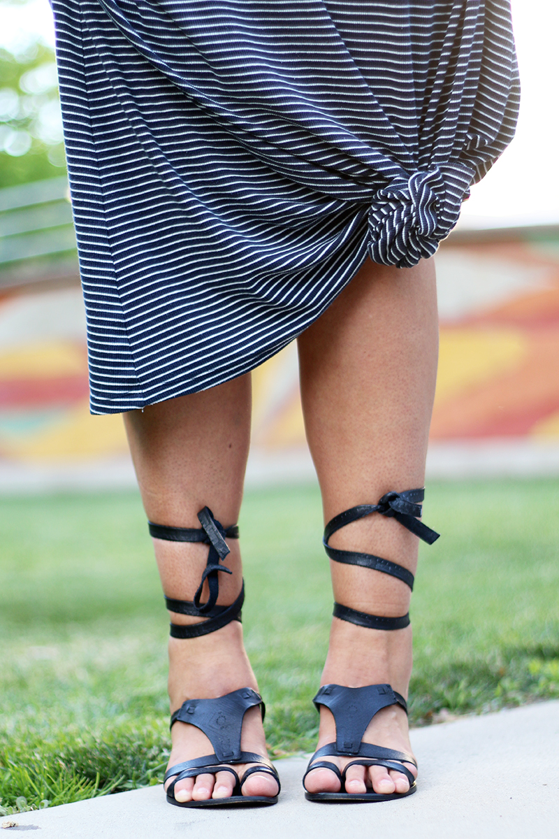 free people oliviera wrap up gladiator sandal