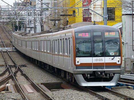 東急東横線 特急 元町・中華街行き 10000系@自由が丘