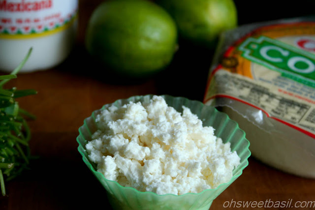 Cotija Cheese for Mexican Street Corn - Elote