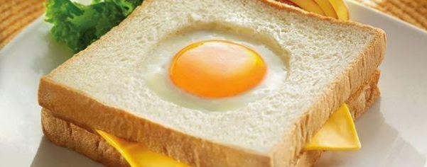 Resep Cara Membuat Roti Telur Mata Sapi Enak dan Sehat