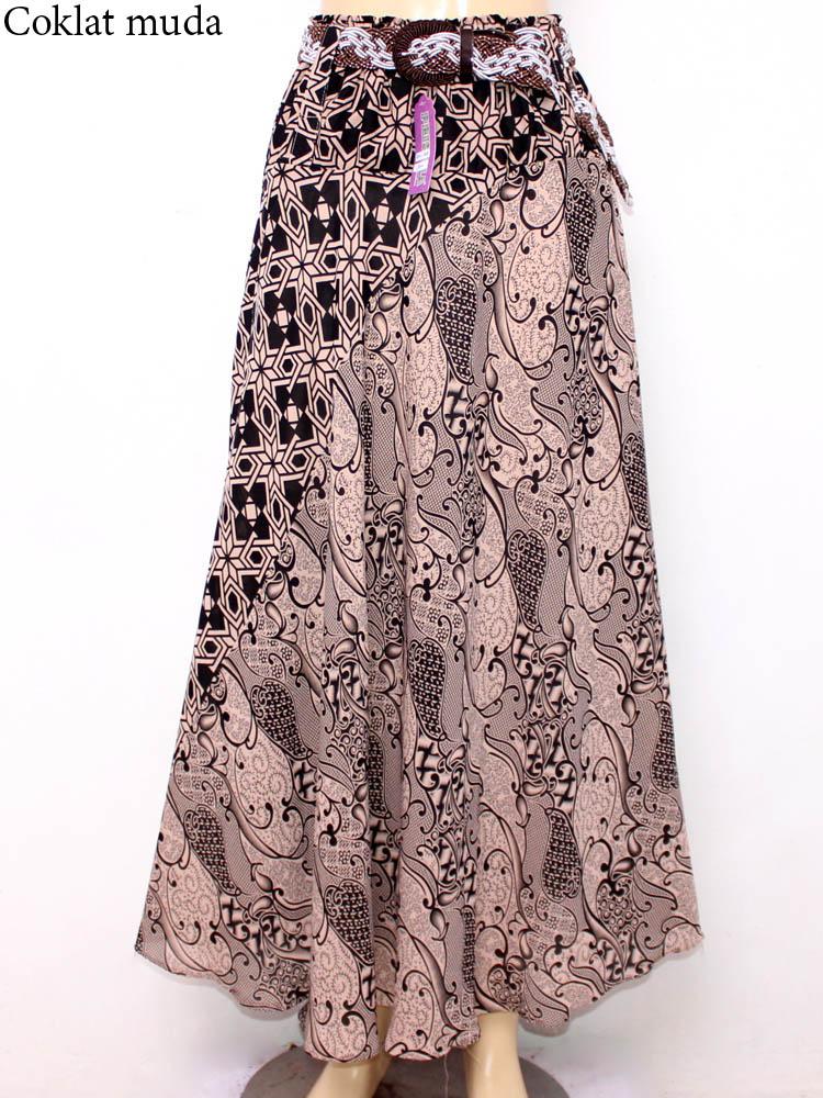 model rok batik panjang muslimah
