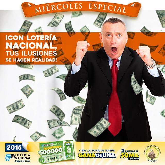 numeros ganadores de lotería nacional