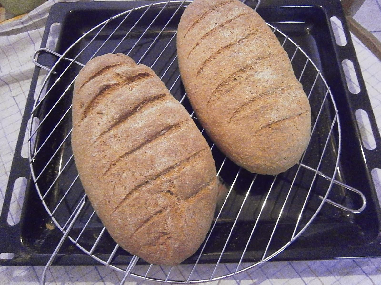 κριθαρένιο ψωμί