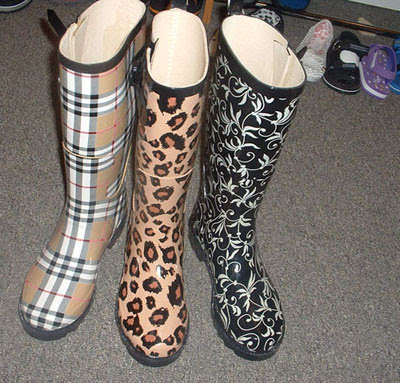 Cheap Fashion Boots Federal  on Burberry Rain Boots Is In Fact A Dream